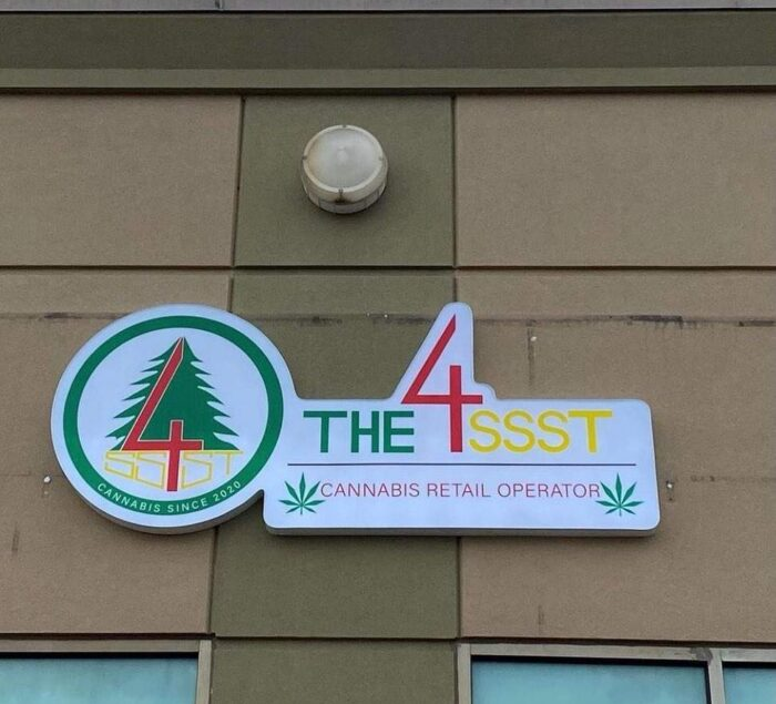Cannabis Store Channel Letter Signage-North York, ON