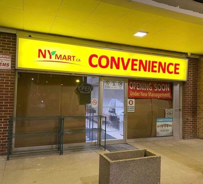 Convenience Store Lightbox Signage-North York, ON