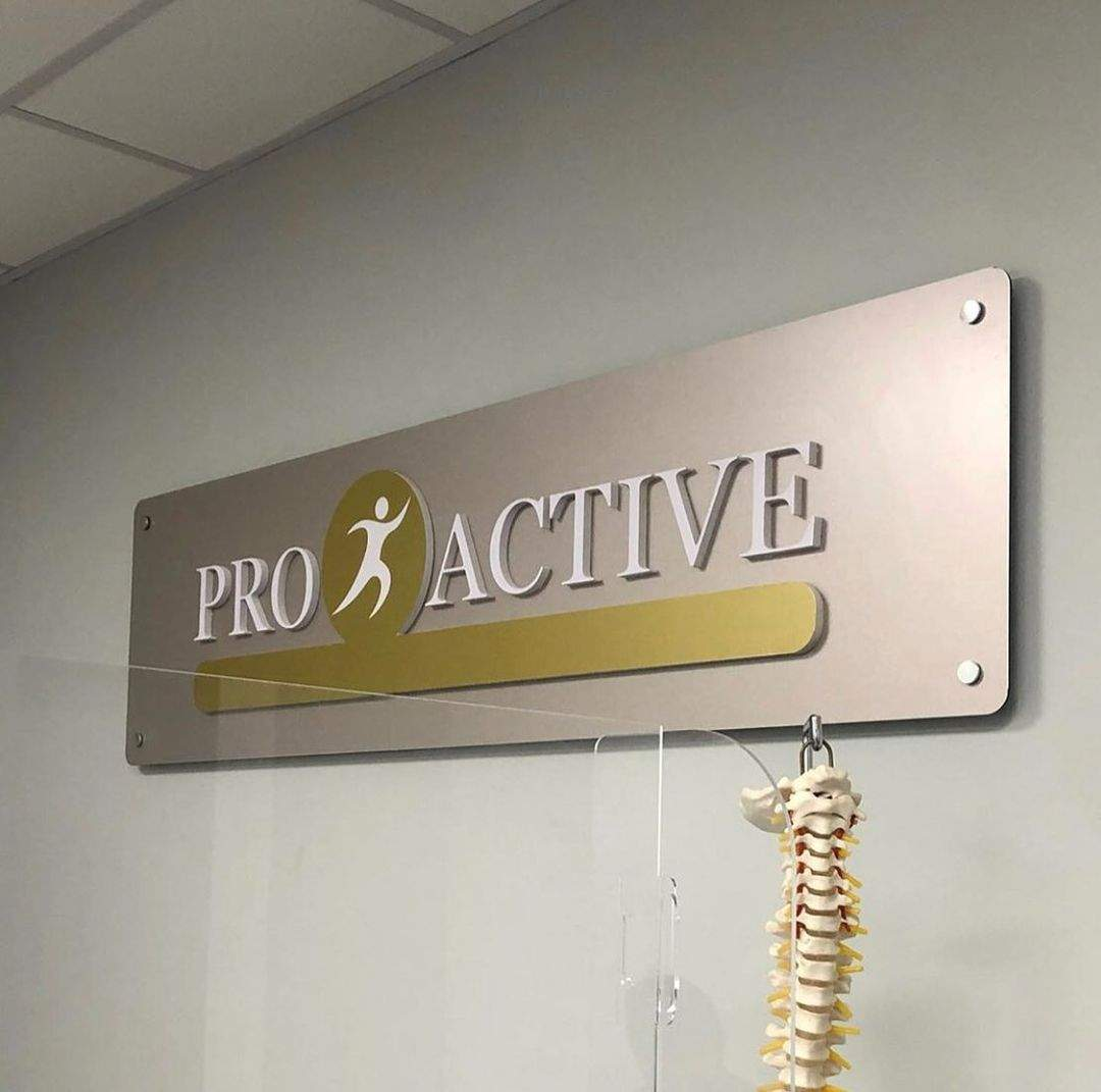 Interior Signage- Fitness PVC Cut Letter Sign Design, North York, ON