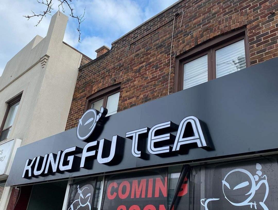Tea Shop Storefront LightBox Design- North York, ON