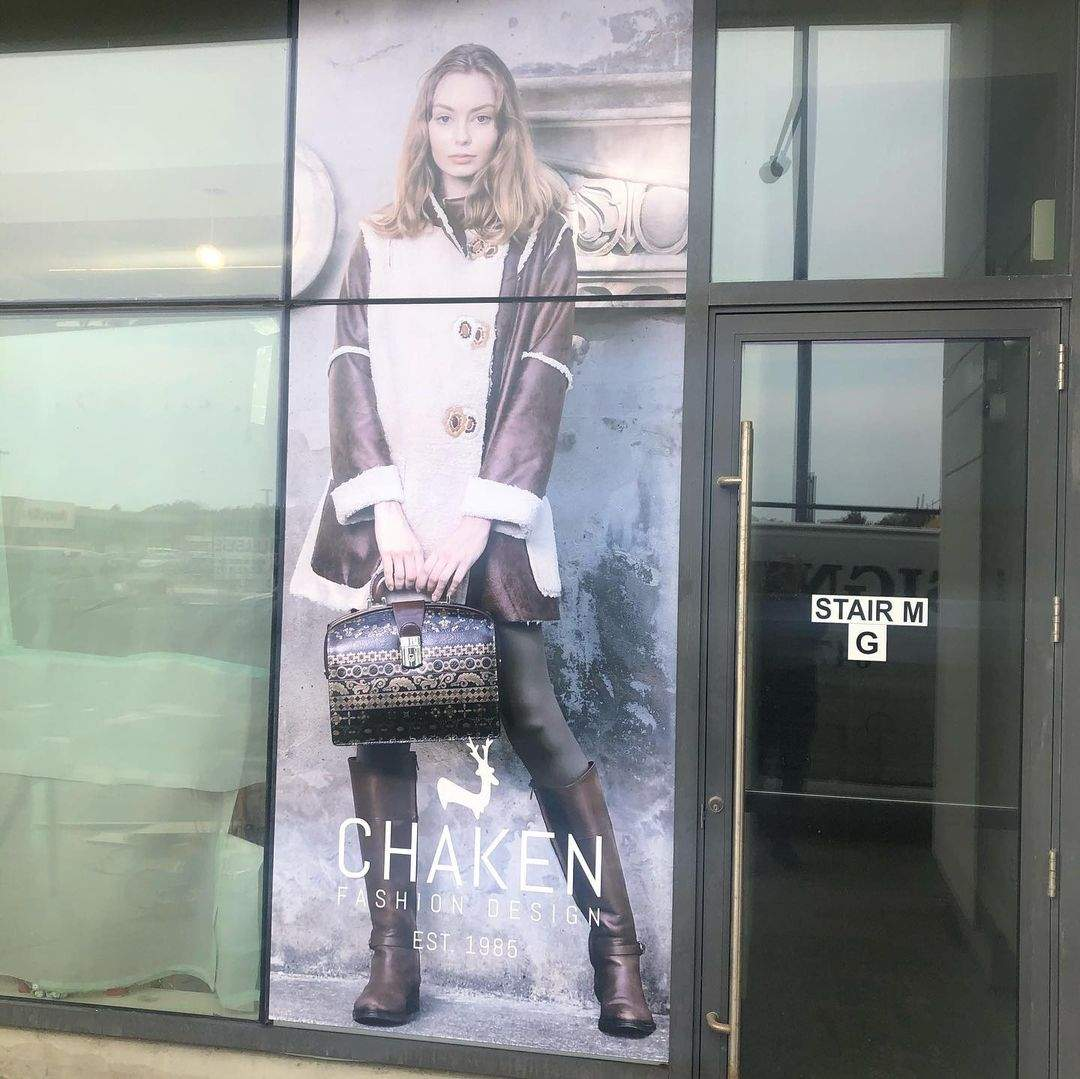 VINYL Window Graphic Signage-North York, ON