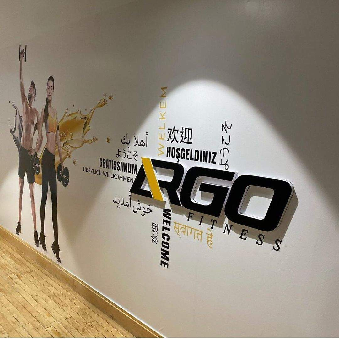 Fitness Salon Way Finding Signs-North York, ON